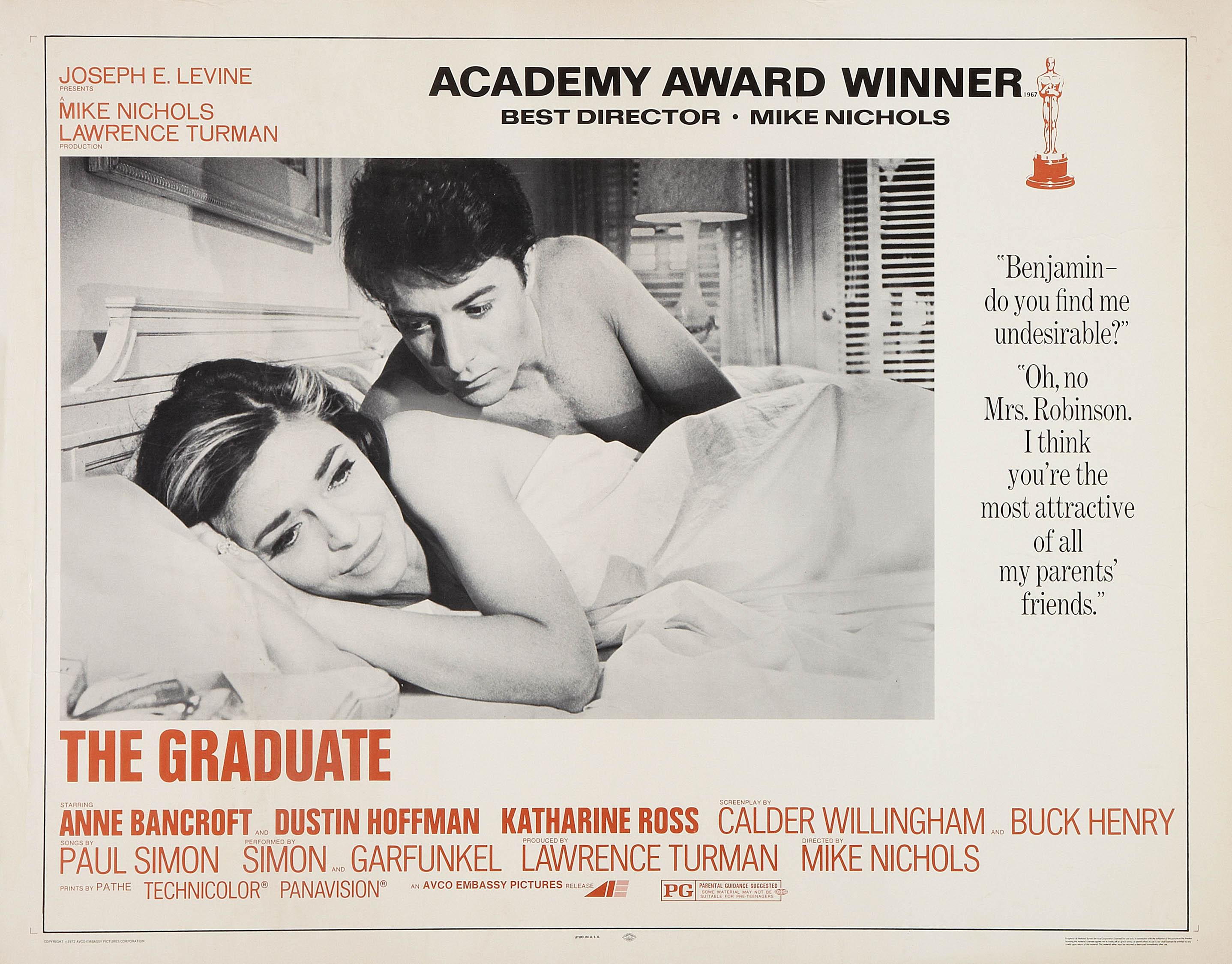 плакат фильма баннер Выпускник