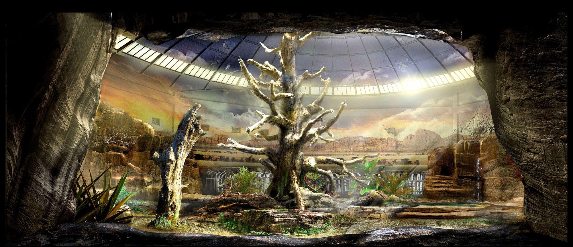 концепт-арты Восстание планеты обезьян