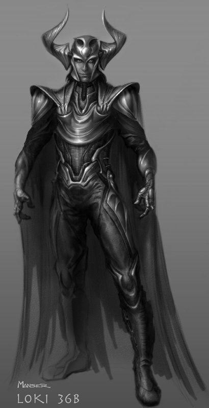 концепт-арты Тор