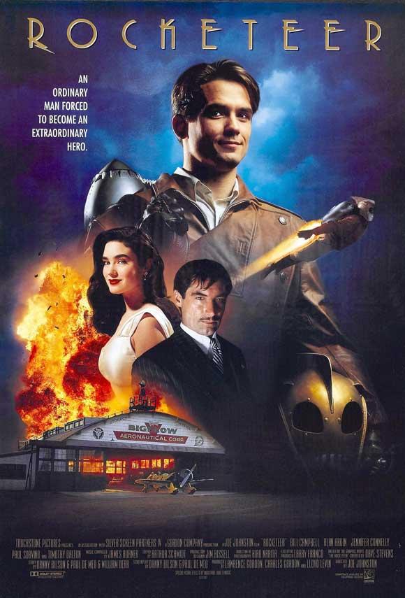 плакат фильма Ракетчик
