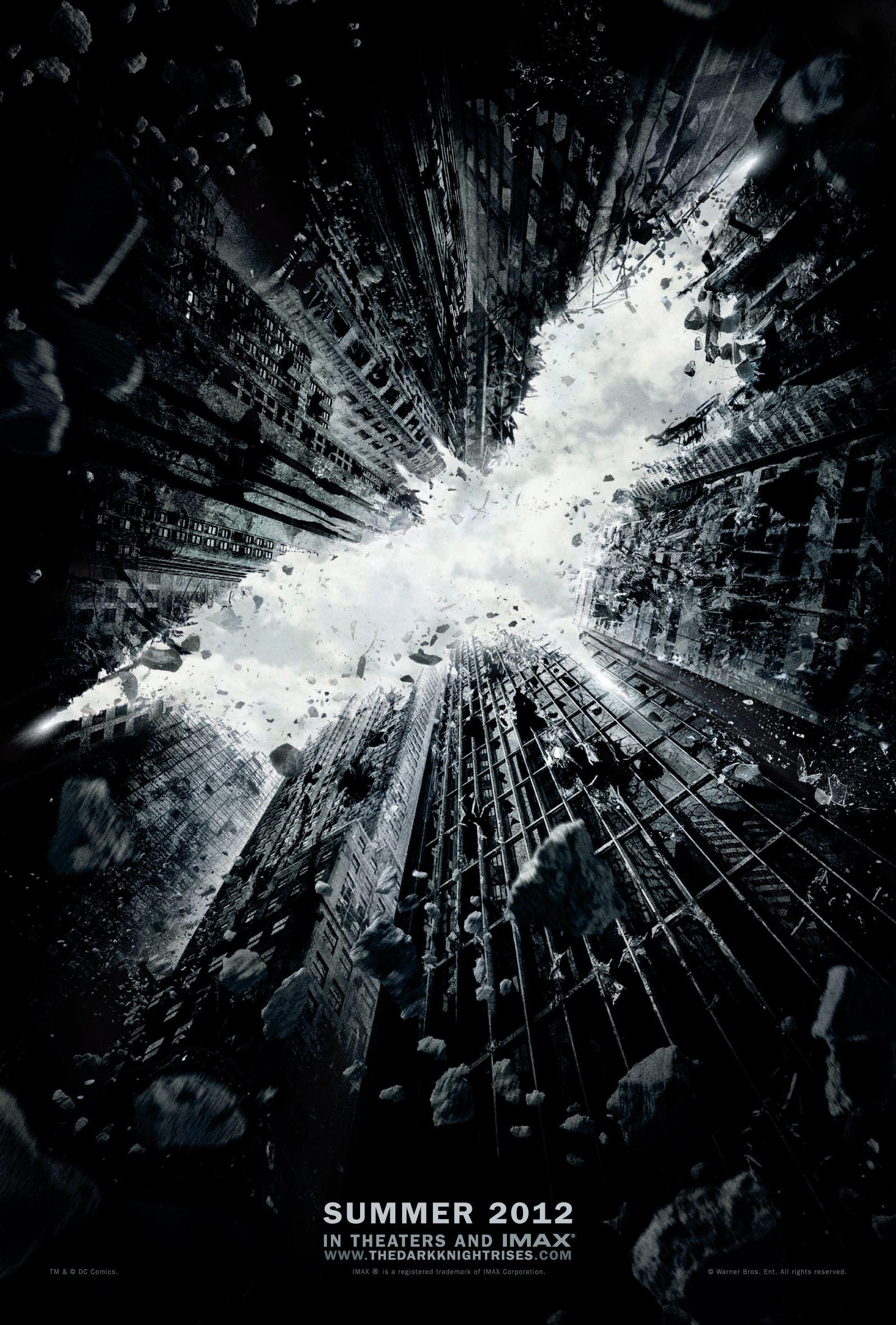 плакат фильма тизер Темный рыцарь: Возрождение легенды