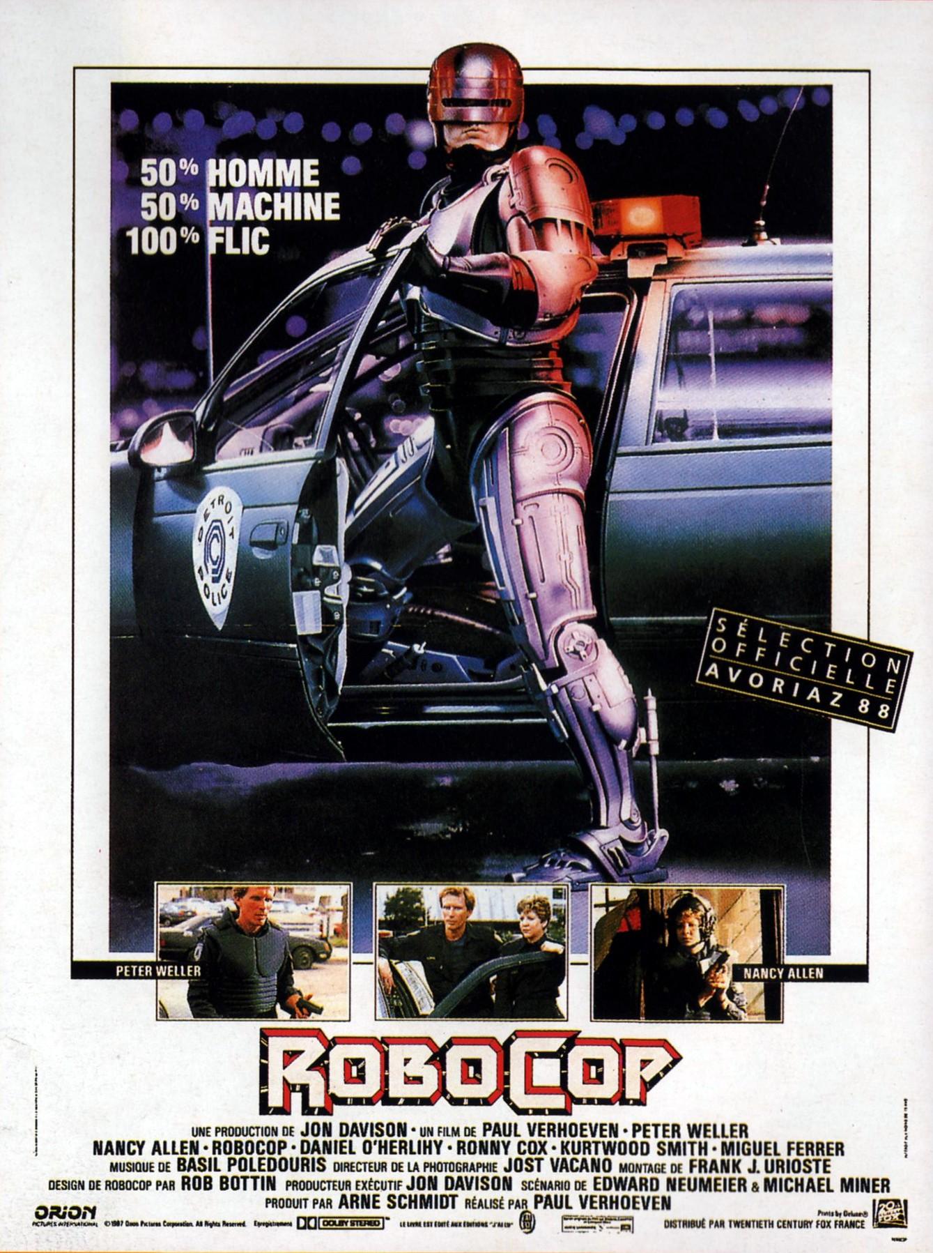 плакат фильма Робокоп
