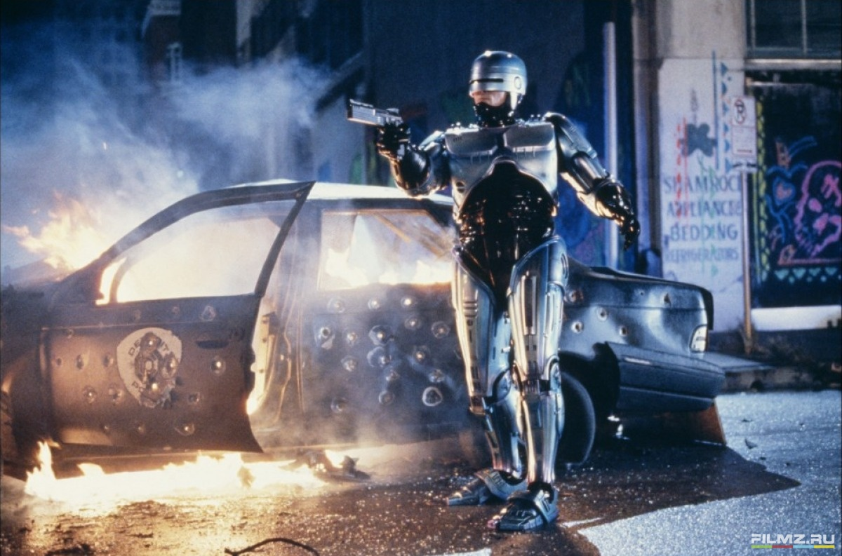 кадры из фильма Робокоп 2 Питер Уэллер,