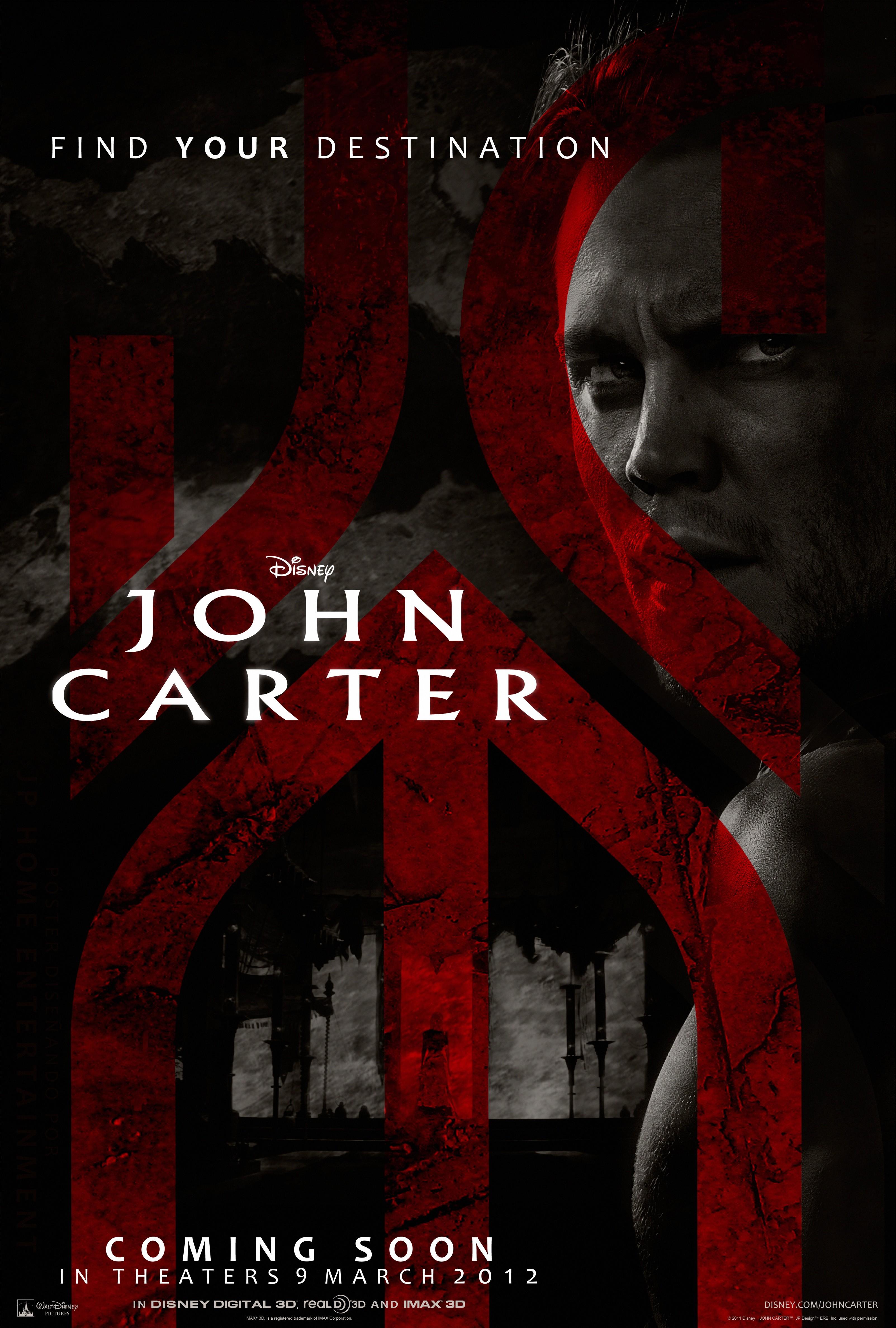плакат фильма тизер Джон Картер