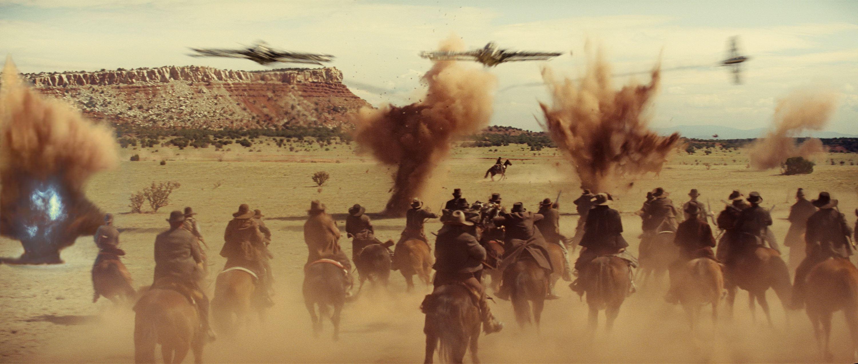 кадры из фильма Ковбои против пришельцев