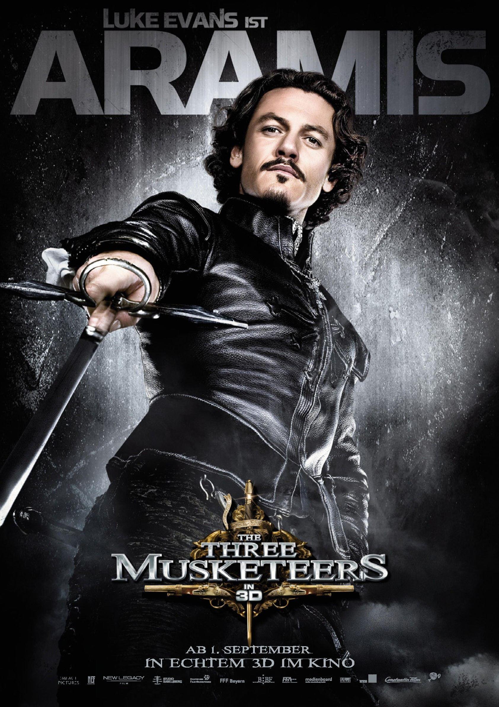 плакат фильма характер-постер Мушкетеры