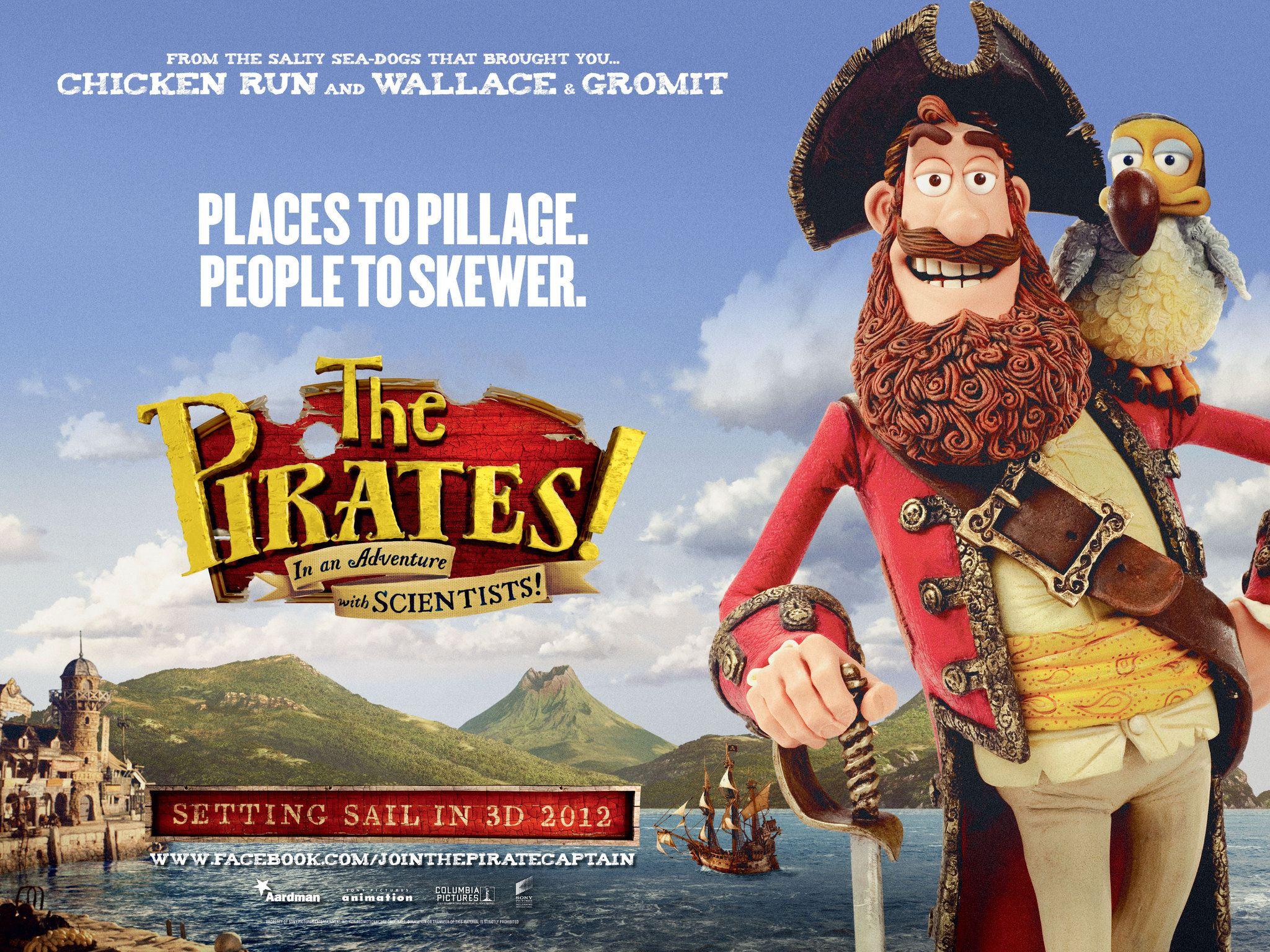 плакат фильма биллборды Пираты: Банда неудачников