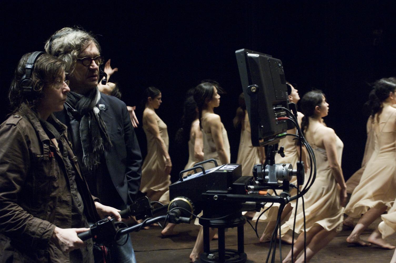 со съемок Пина: Танец страсти 3D Вим Вендерс,