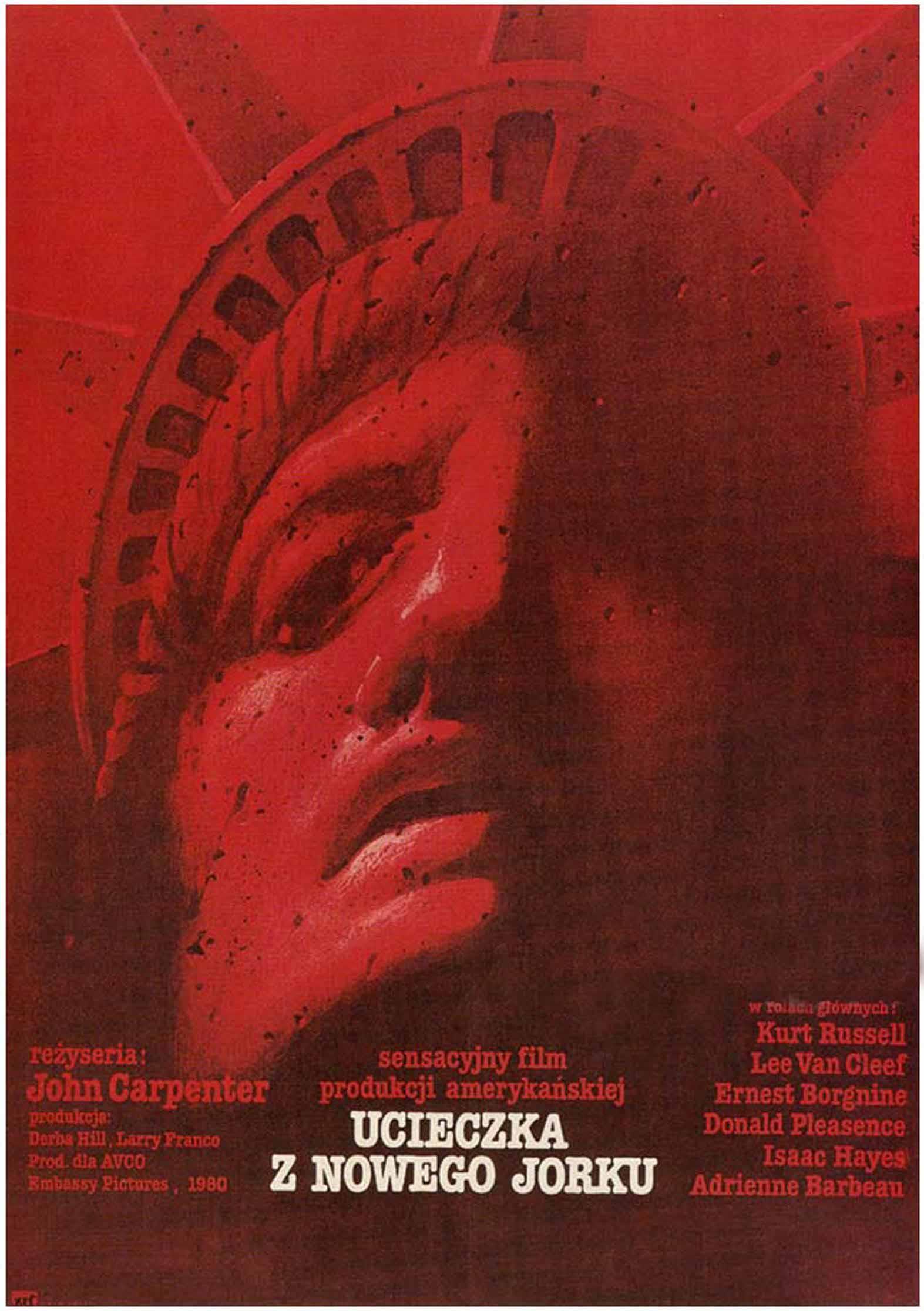 плакат фильма Побег из Нью-Йорка