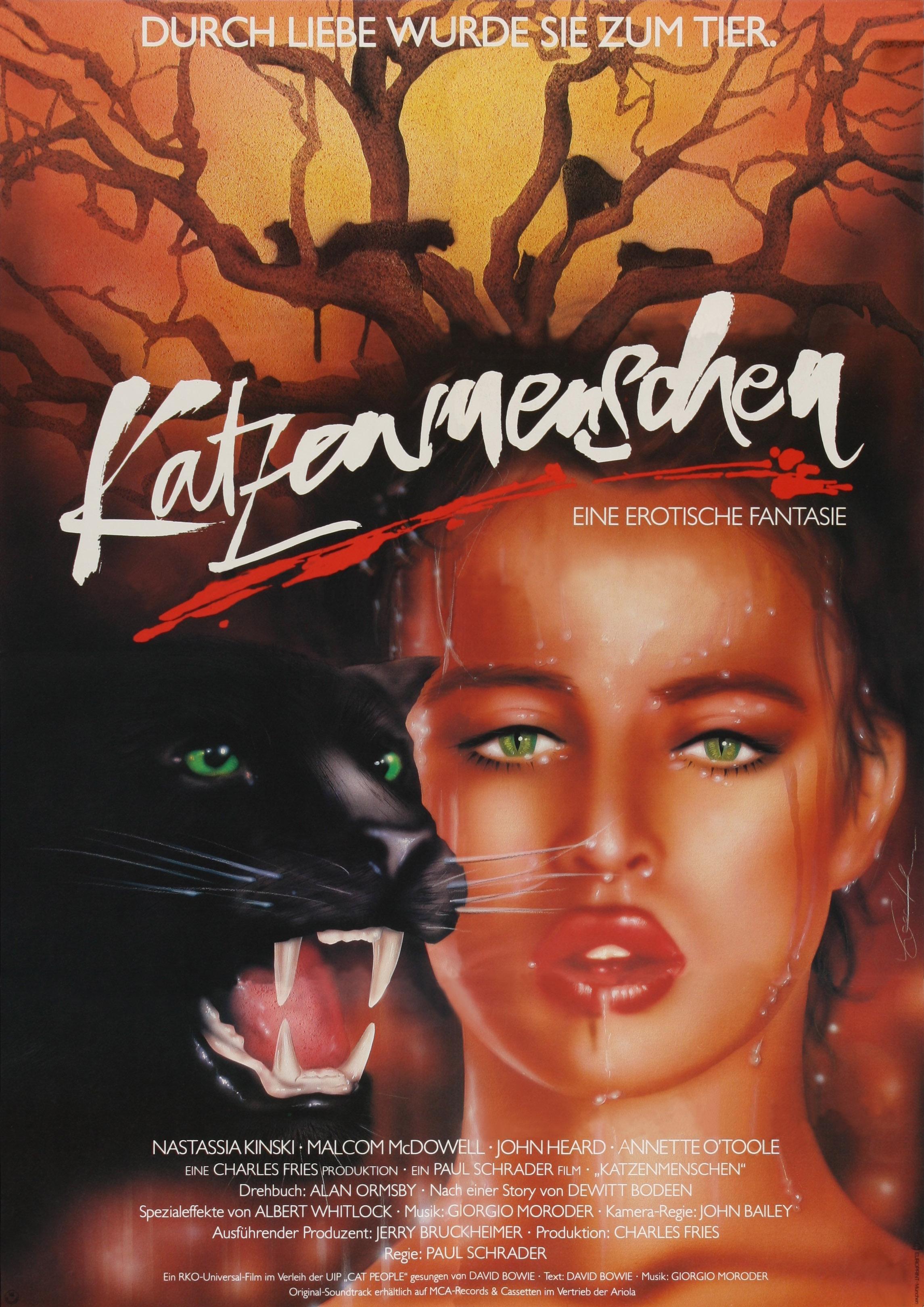плакат фильма Люди-кошки