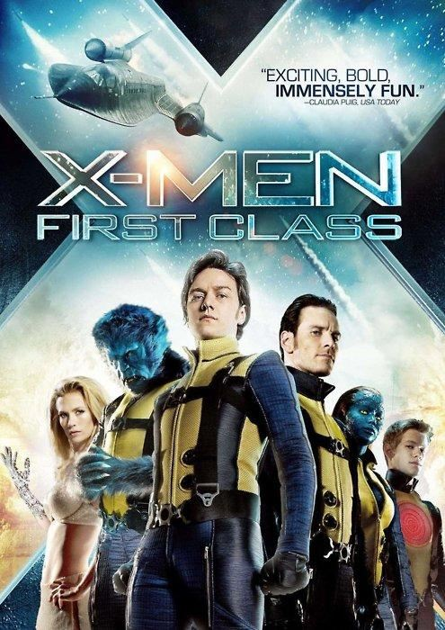плакат фильма DVD Люди Икс: Первый класс