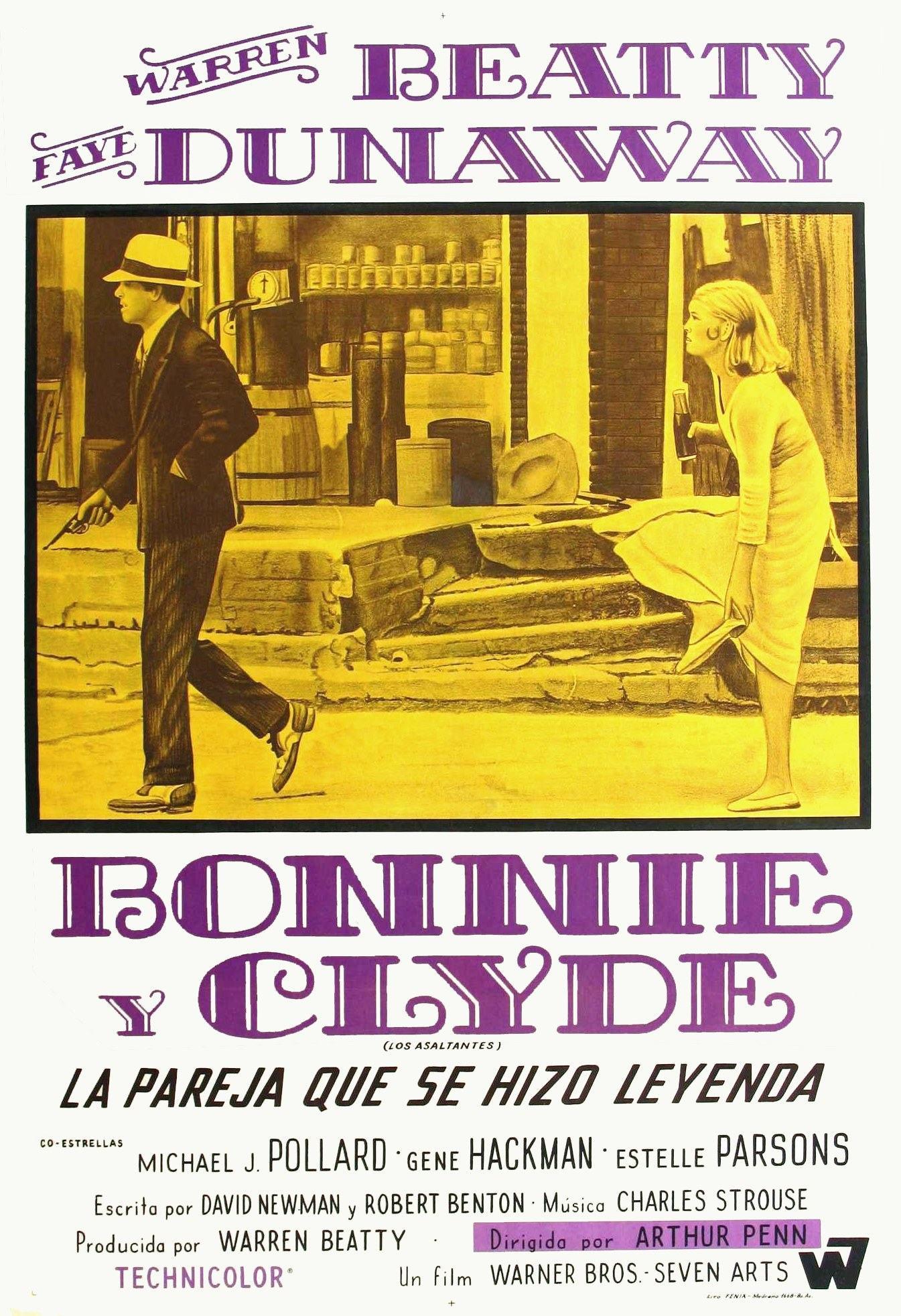 плакат фильма Бонни и Клайд