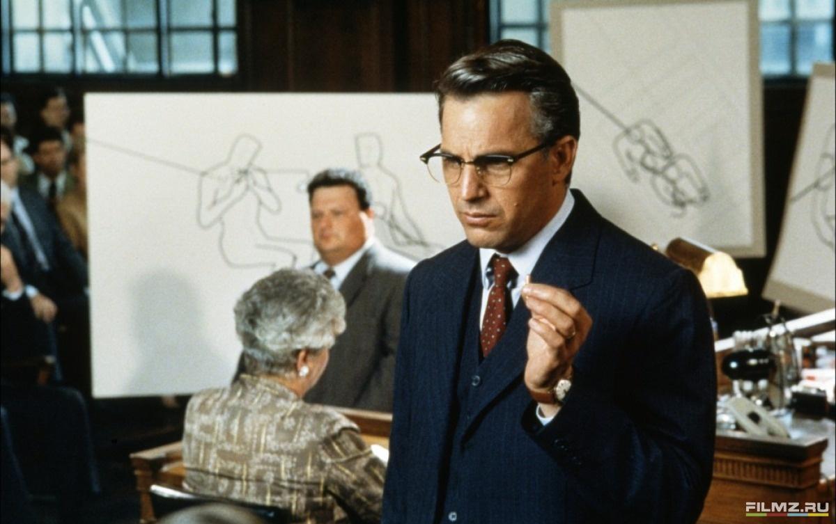 кадры из фильма Джон Ф. Кеннеди: Выстрелы в Далласе Кевин Костнер,
