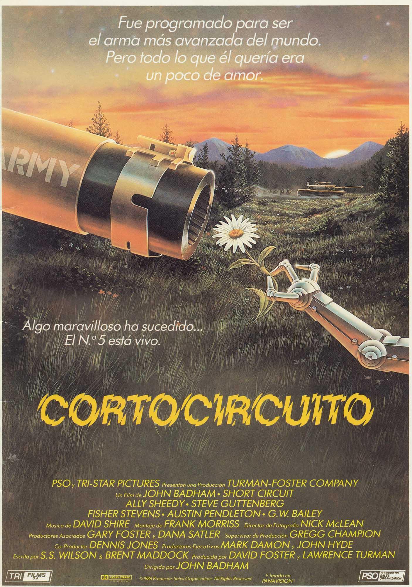 плакат фильма Короткое замыкание