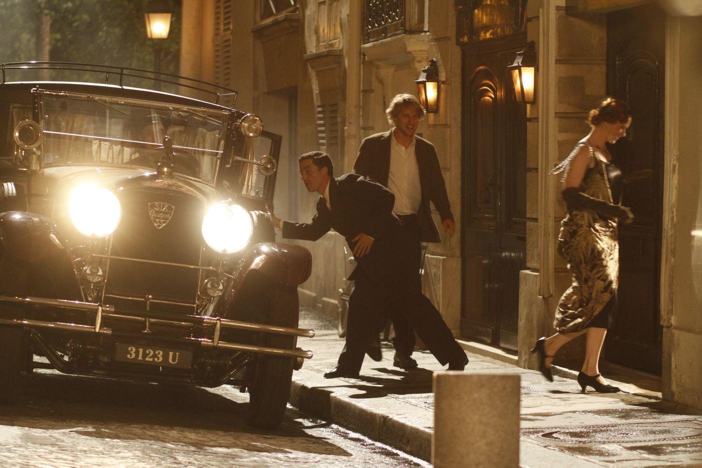 кадры из фильма Полночь в Париже Оуэн Уилсон,