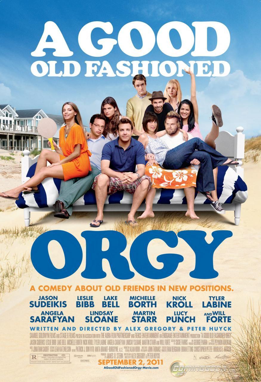 плакат фильма постер Старая добрая оргия