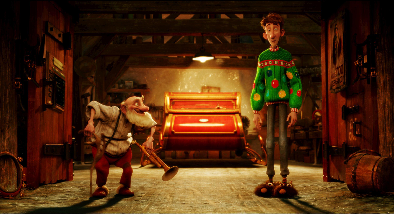 кадры из фильма Секретная служба Санта Клауса