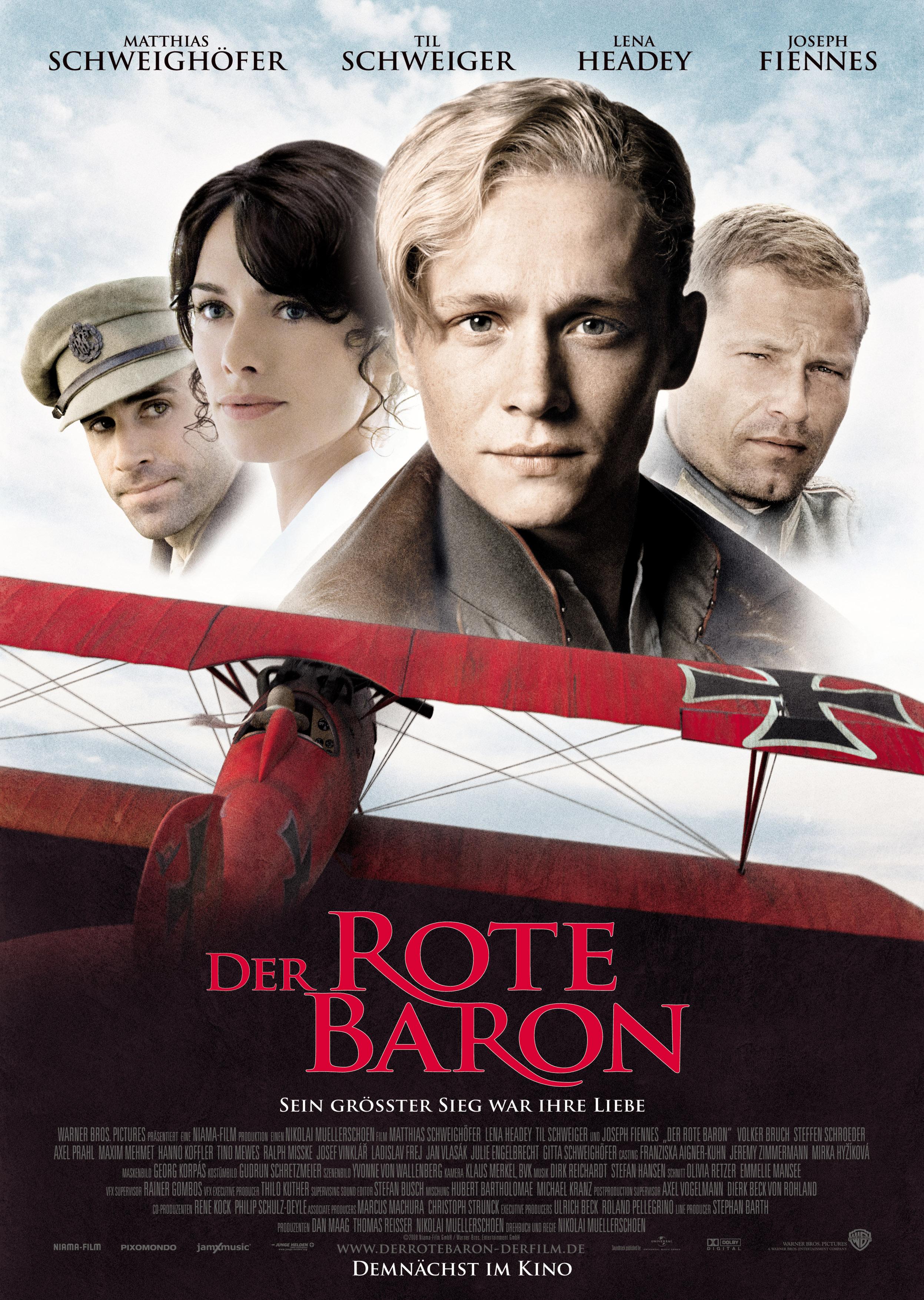 плакат фильма постер Красный барон