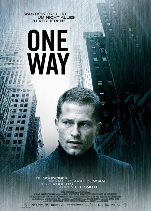 плакат фильма постер В одну сторону
