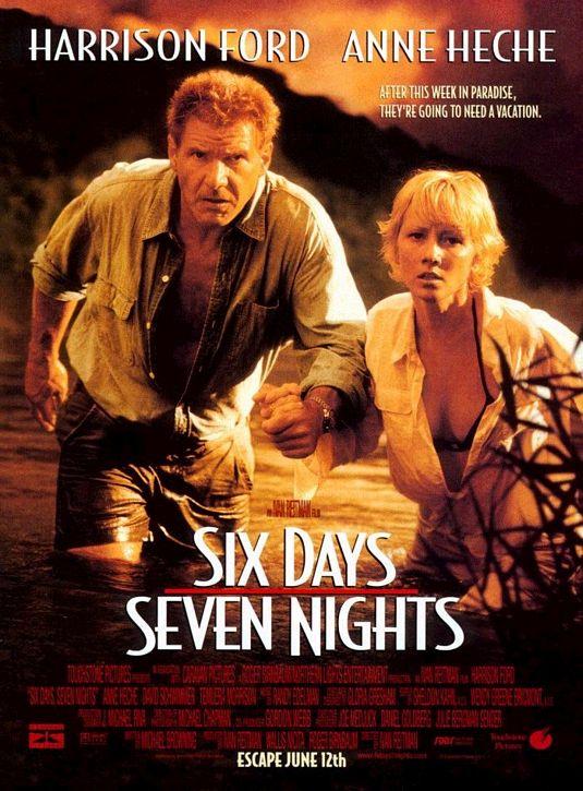 плакат фильма постер Шесть дней, семь ночей