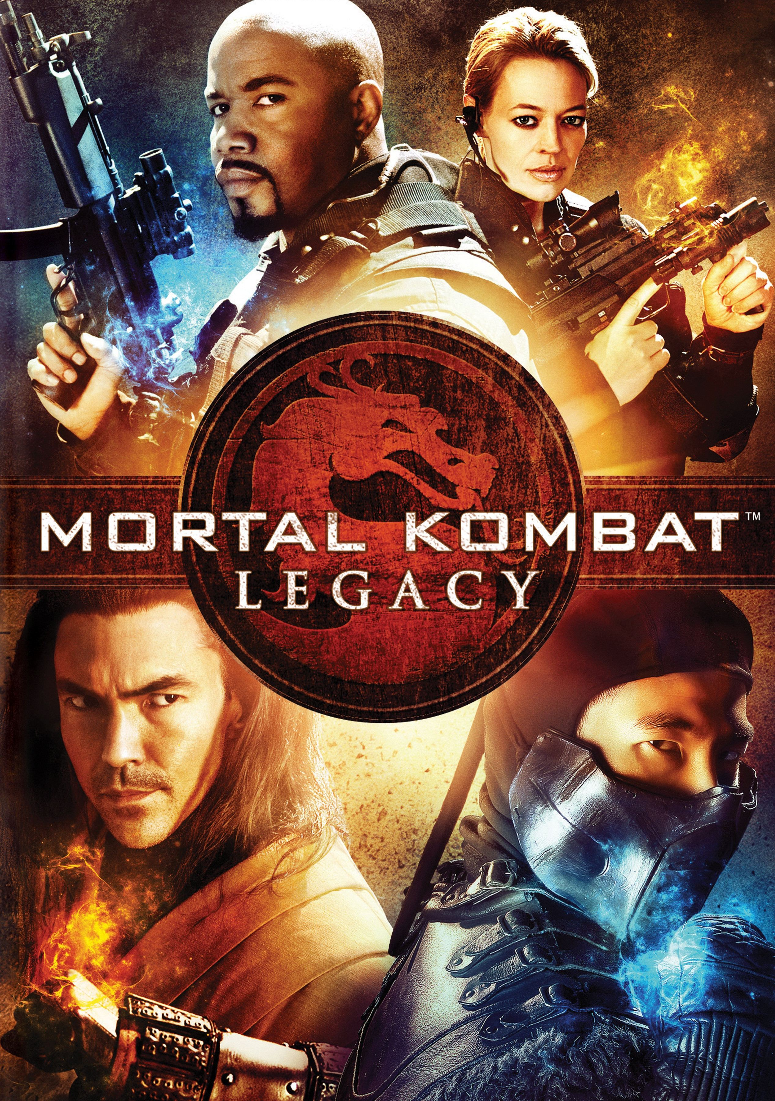 плакат фильма постер Смертельная битва: Наследие*