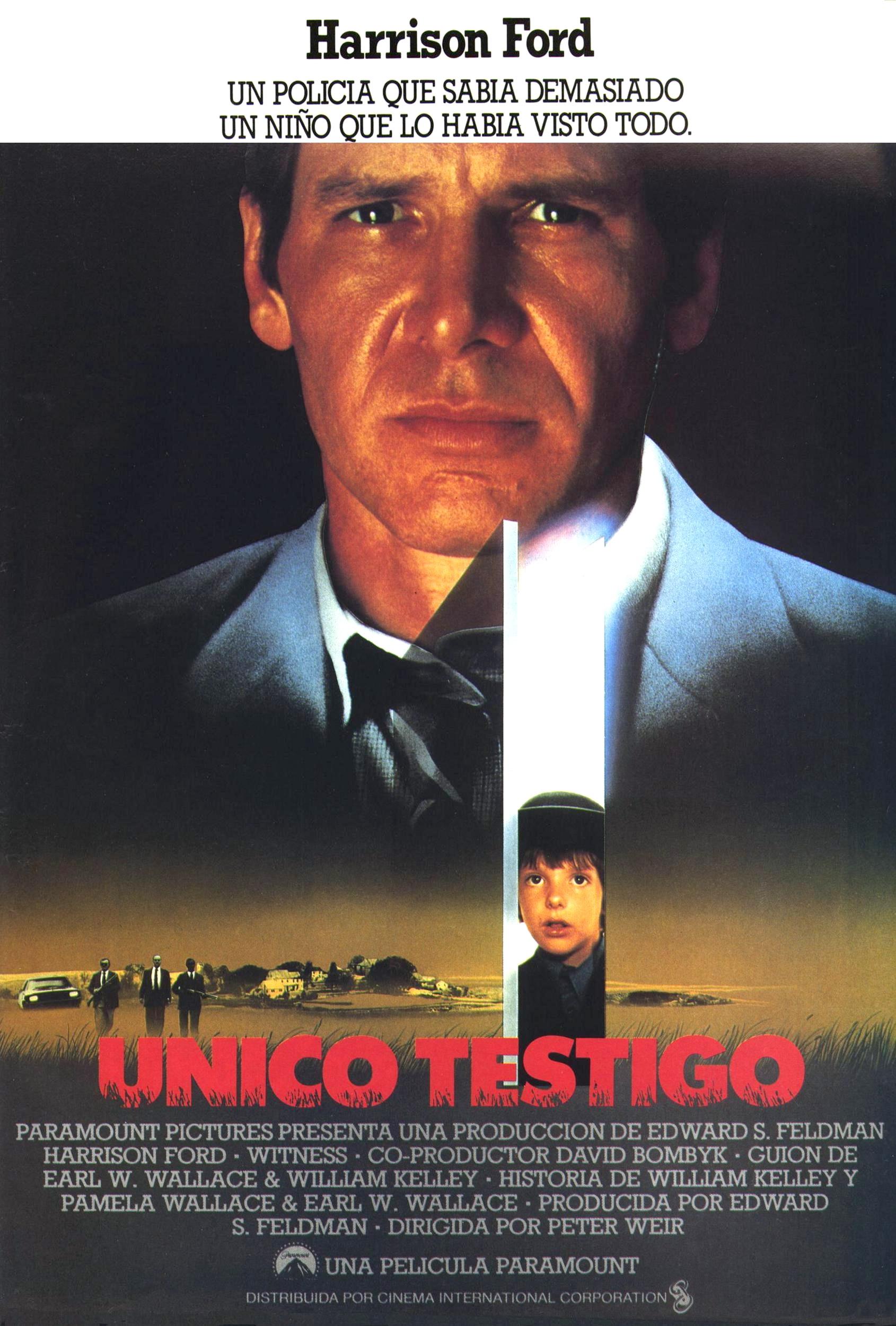 плакат фильма постер Свидетель