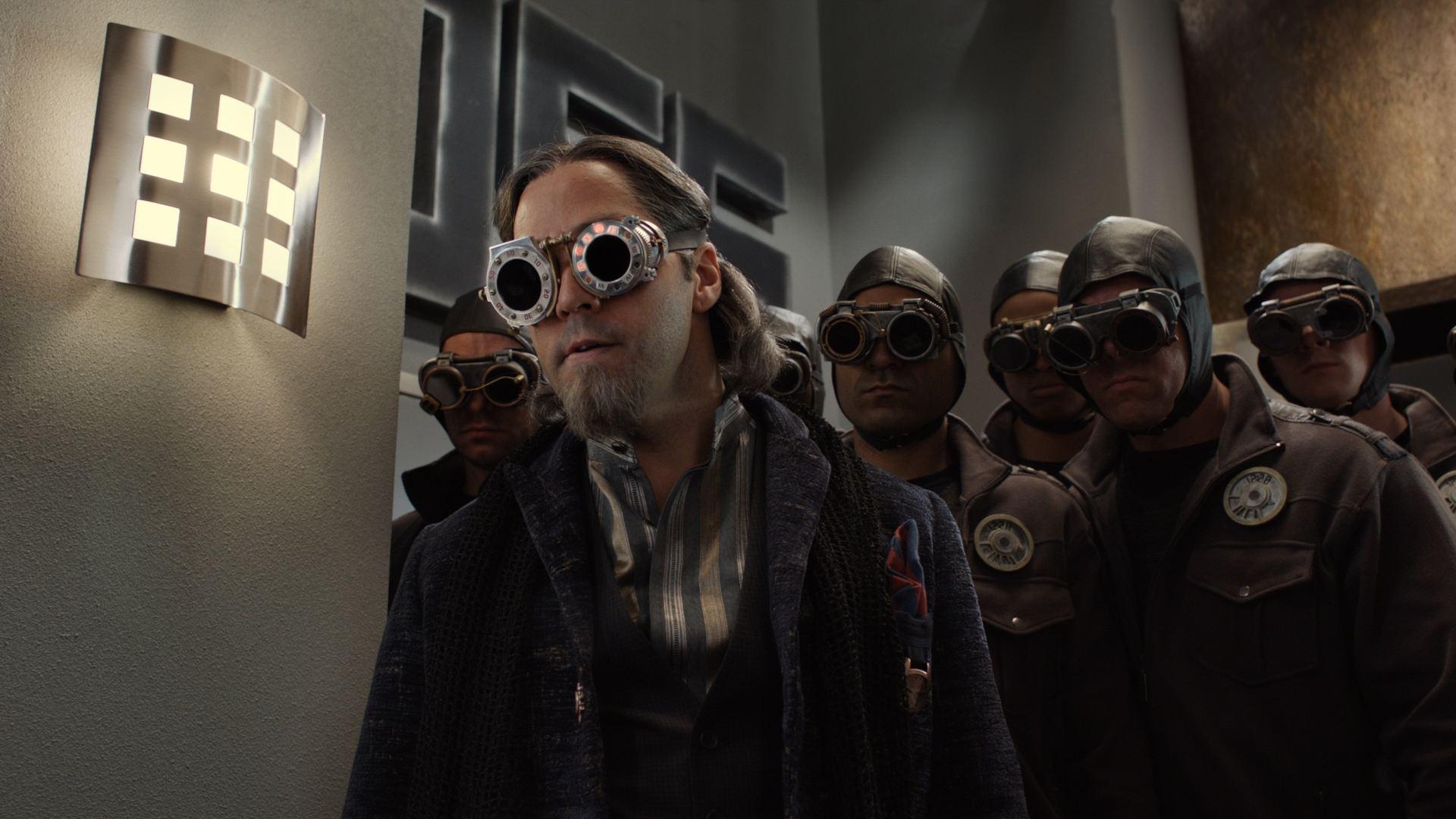 кадры из фильма Дети шпионов в 4D Джереми Пивен,