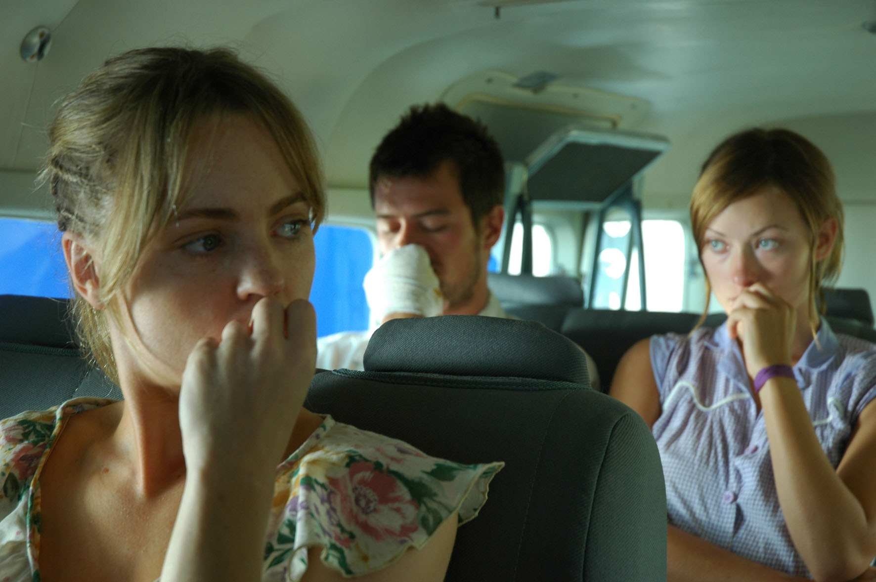 кадры из фильма Туристас