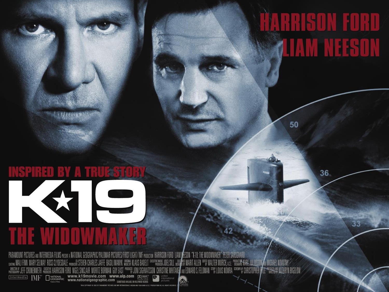 плакат фильма баннер К-19
