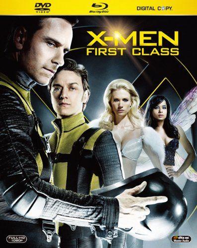 плакат фильма Blu-Ray Люди Икс: Первый класс
