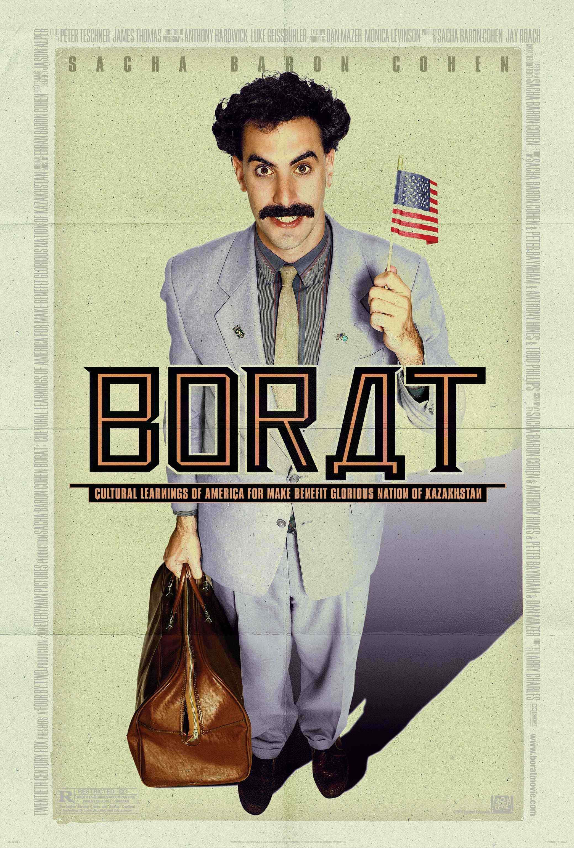 плакат фильма постер Борат