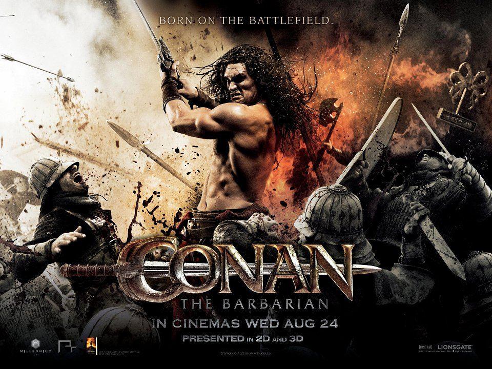 плакат фильма биллборды Конан-варвар