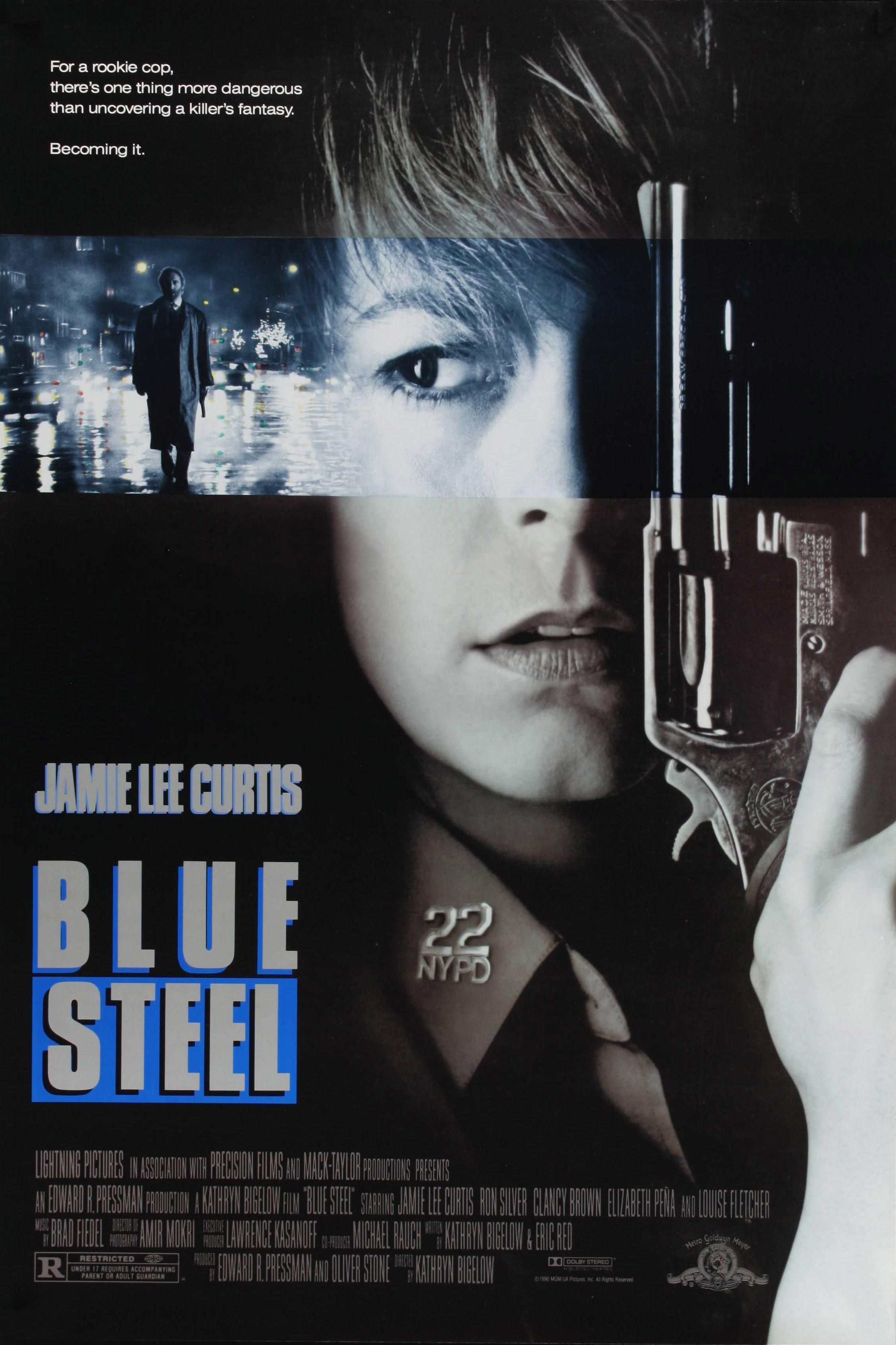 плакат фильма Голубая сталь