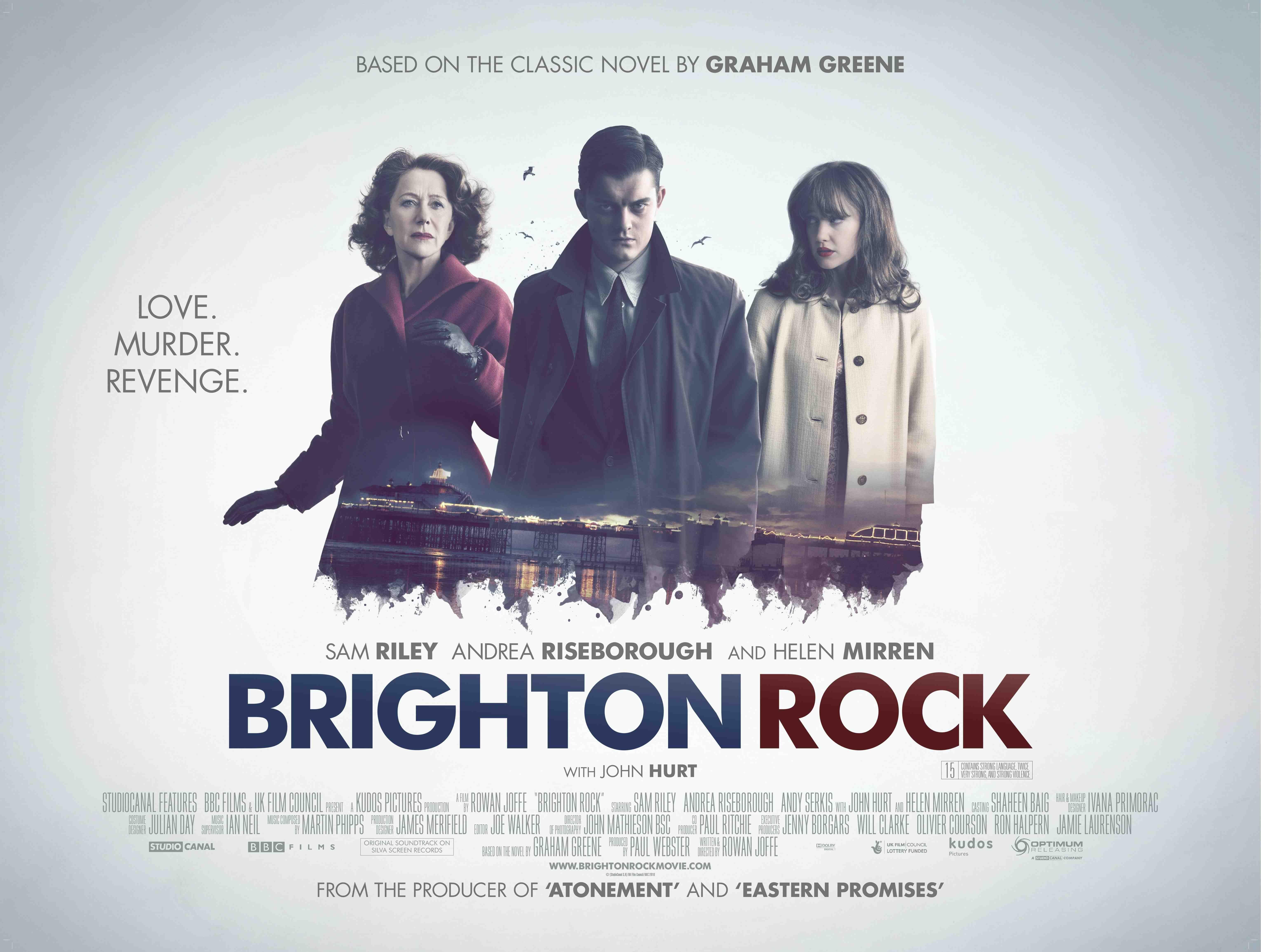 плакат фильма биллборды Брайтонский леденец*