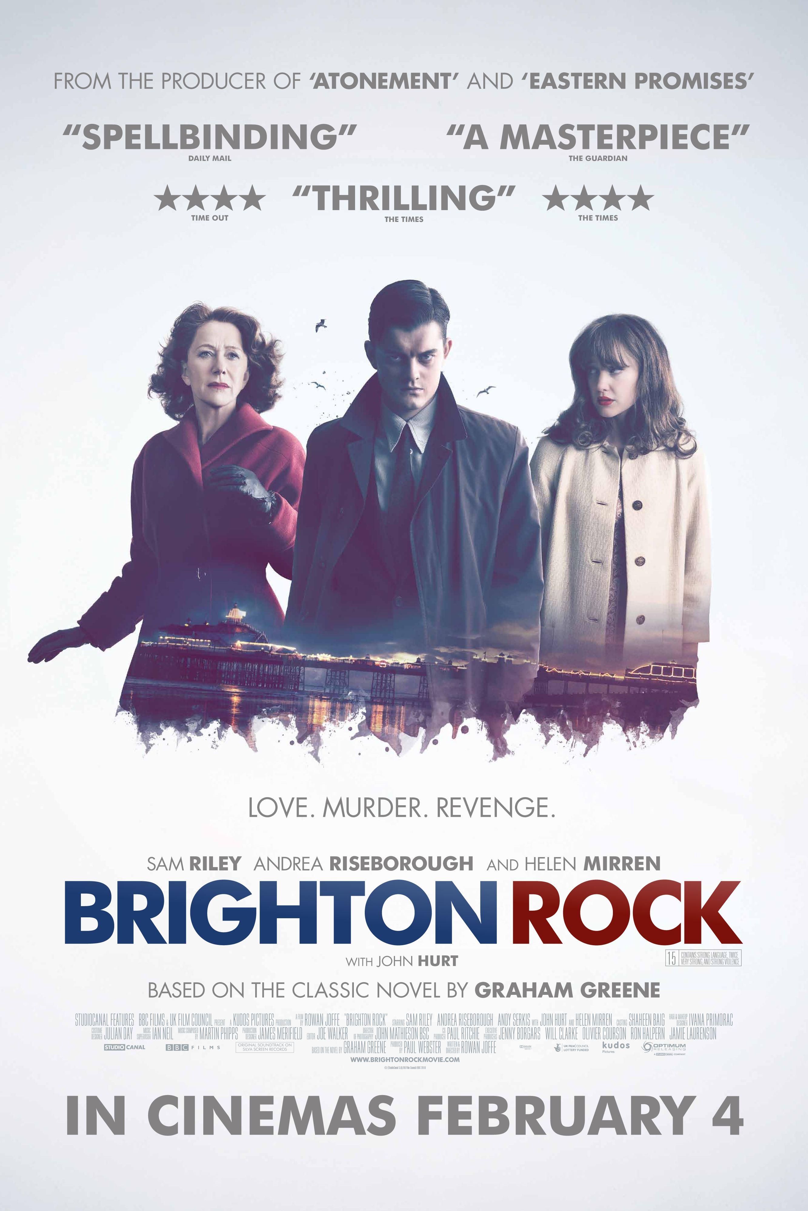 плакат фильма постер Брайтонский леденец*