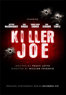 плакат фильма тизер Киллер Джо