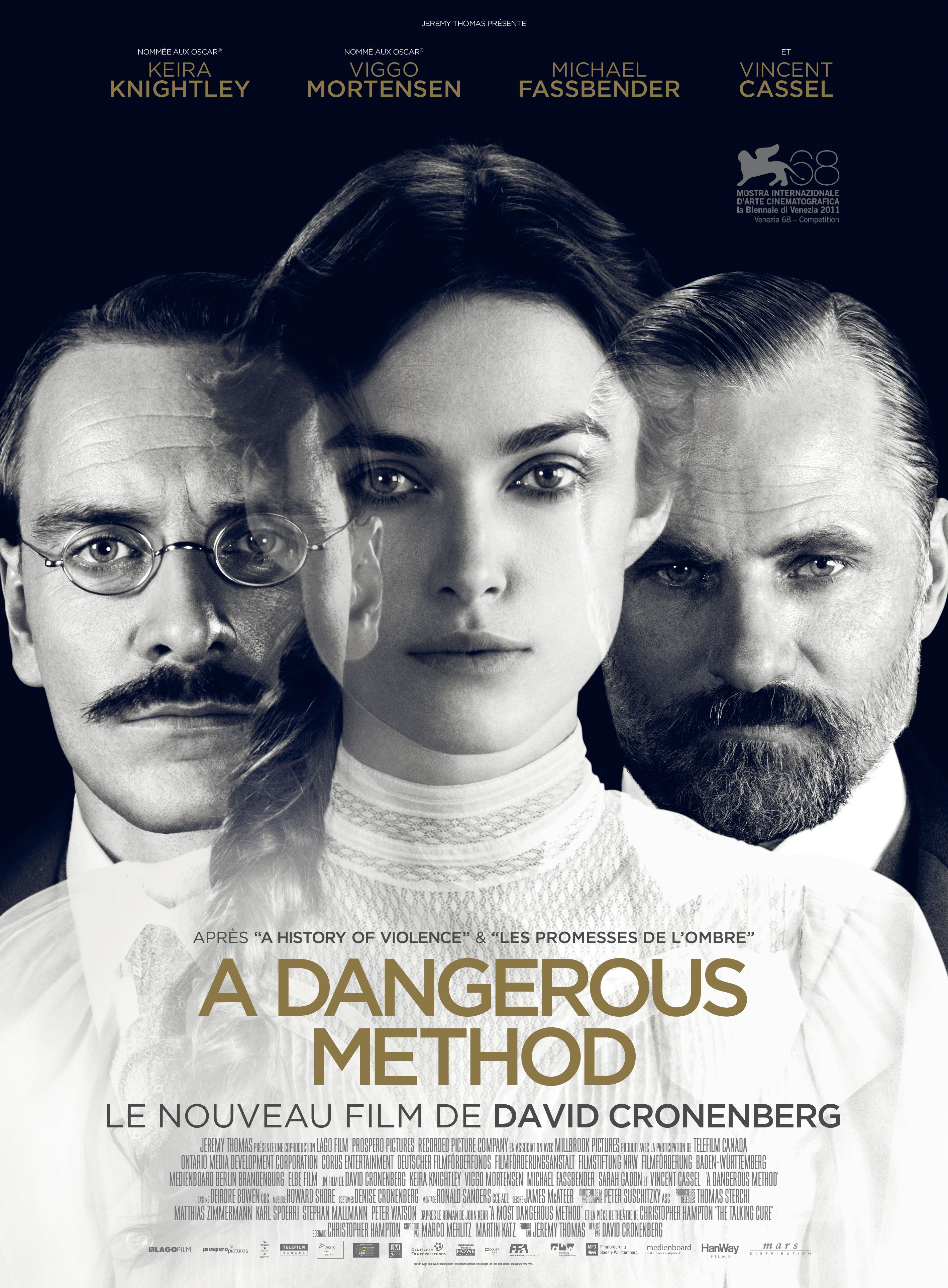 плакат фильма постер Опасный метод