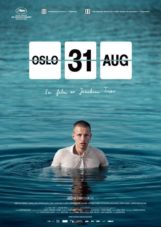 плакат фильма постер Осло, 31-го августа*