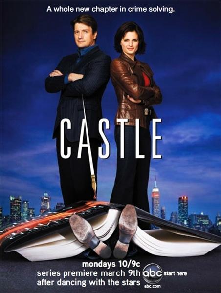 плакат фильма постер сезон 1 Касл