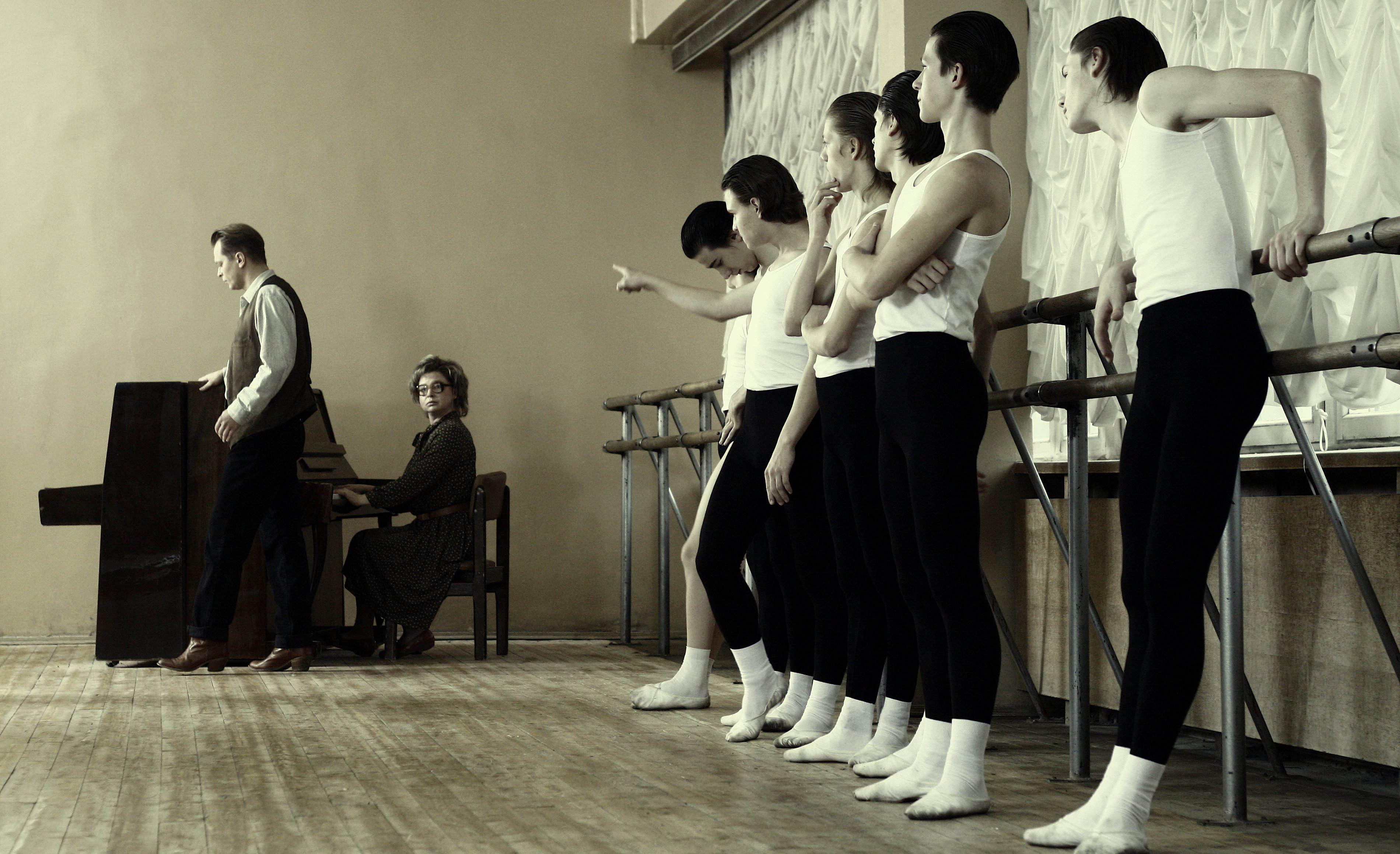 кадры из фильма Мой папа Барышников