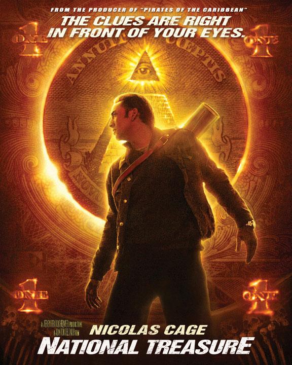 плакат фильма постер Сокровище нации