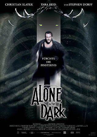 плакат фильма постер Один в темноте