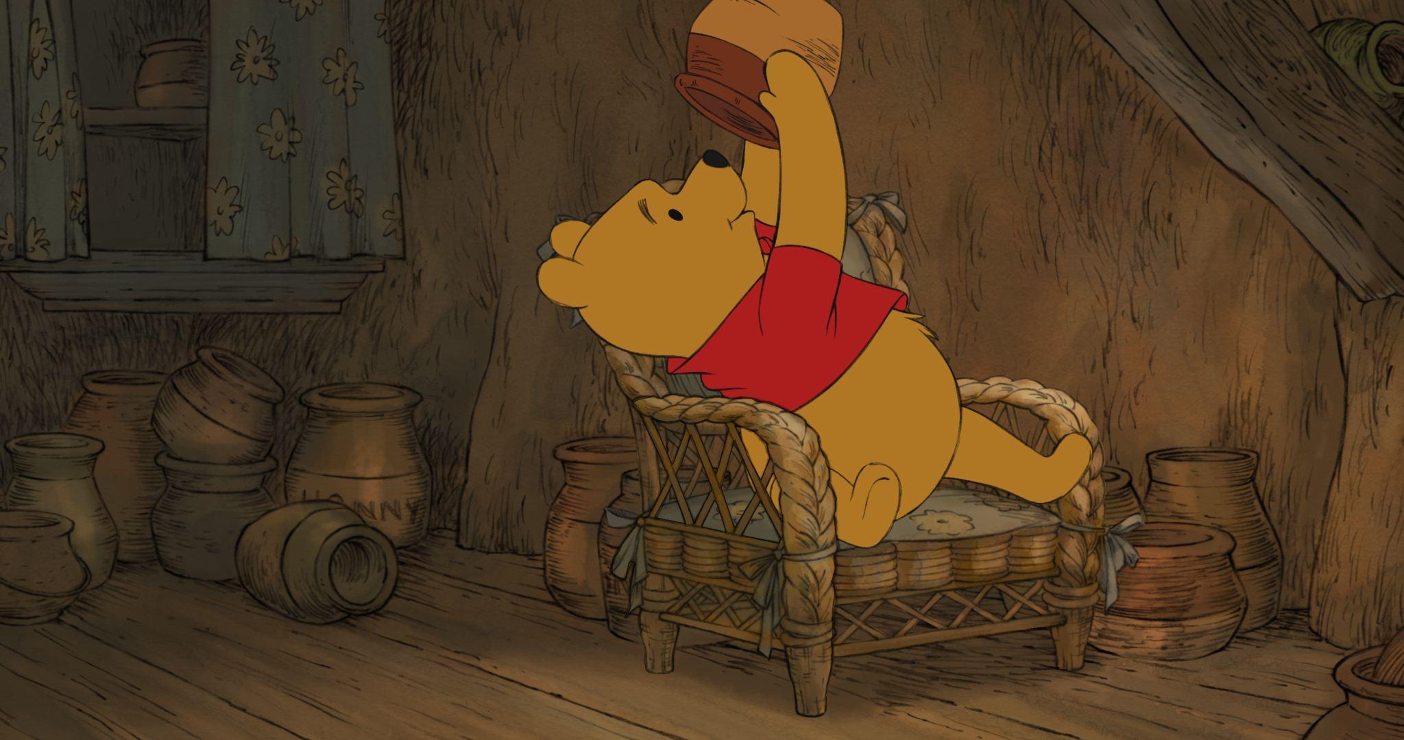 кадры из фильма Медвежонок Винни и его друзья