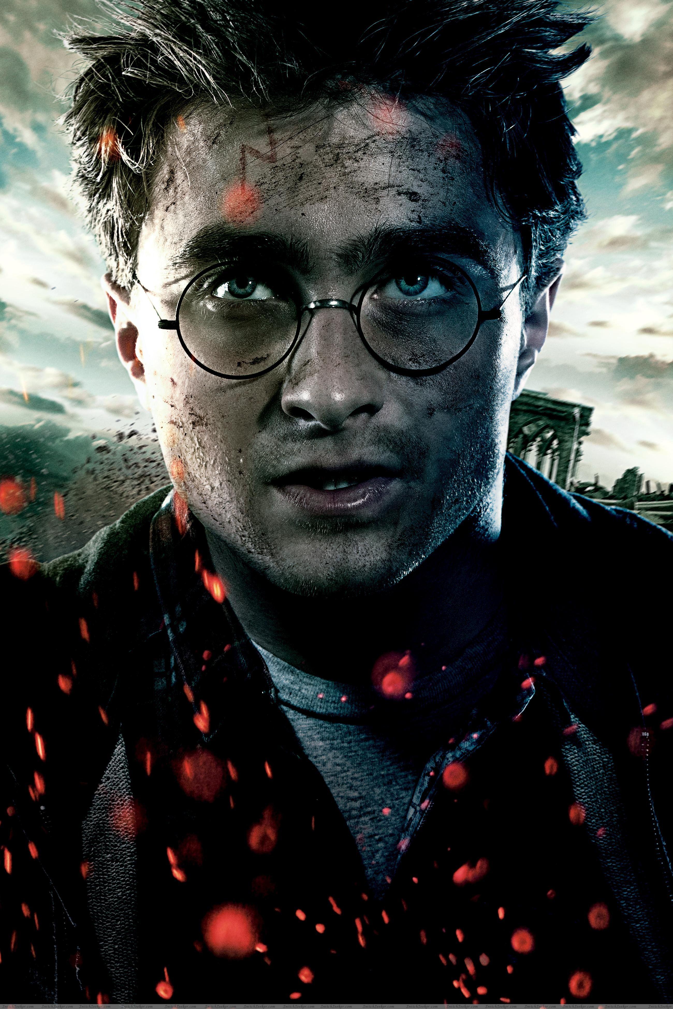 плакат фильма характер-постер textless Гарри Поттер и Дары Смерти: Часть вторая