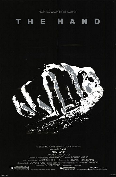 плакат фильма Рука