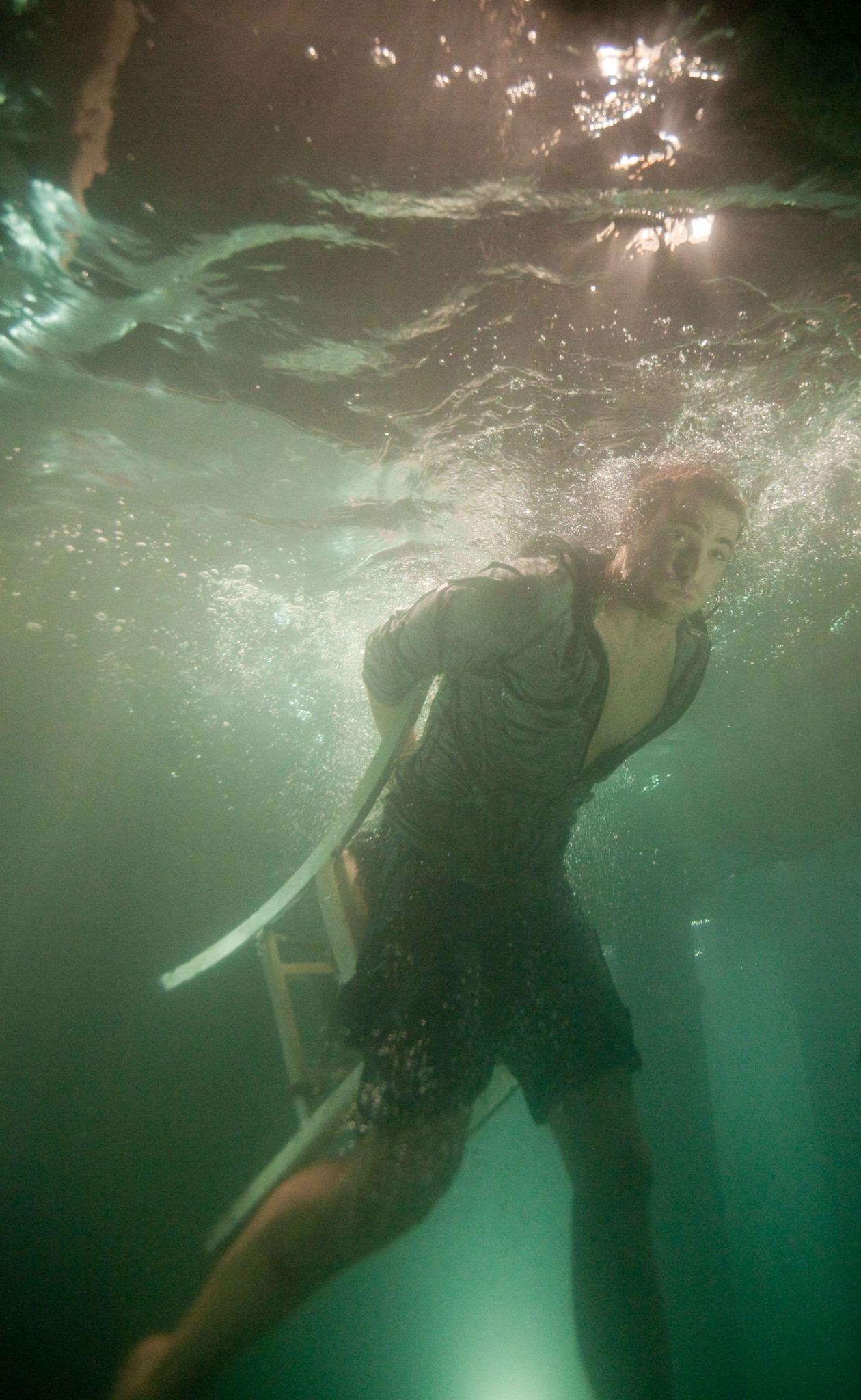 кадры из фильма Челюсти 3D Дастин Миллиган,