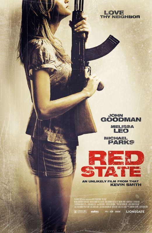 плакат фильма постер Красный штат