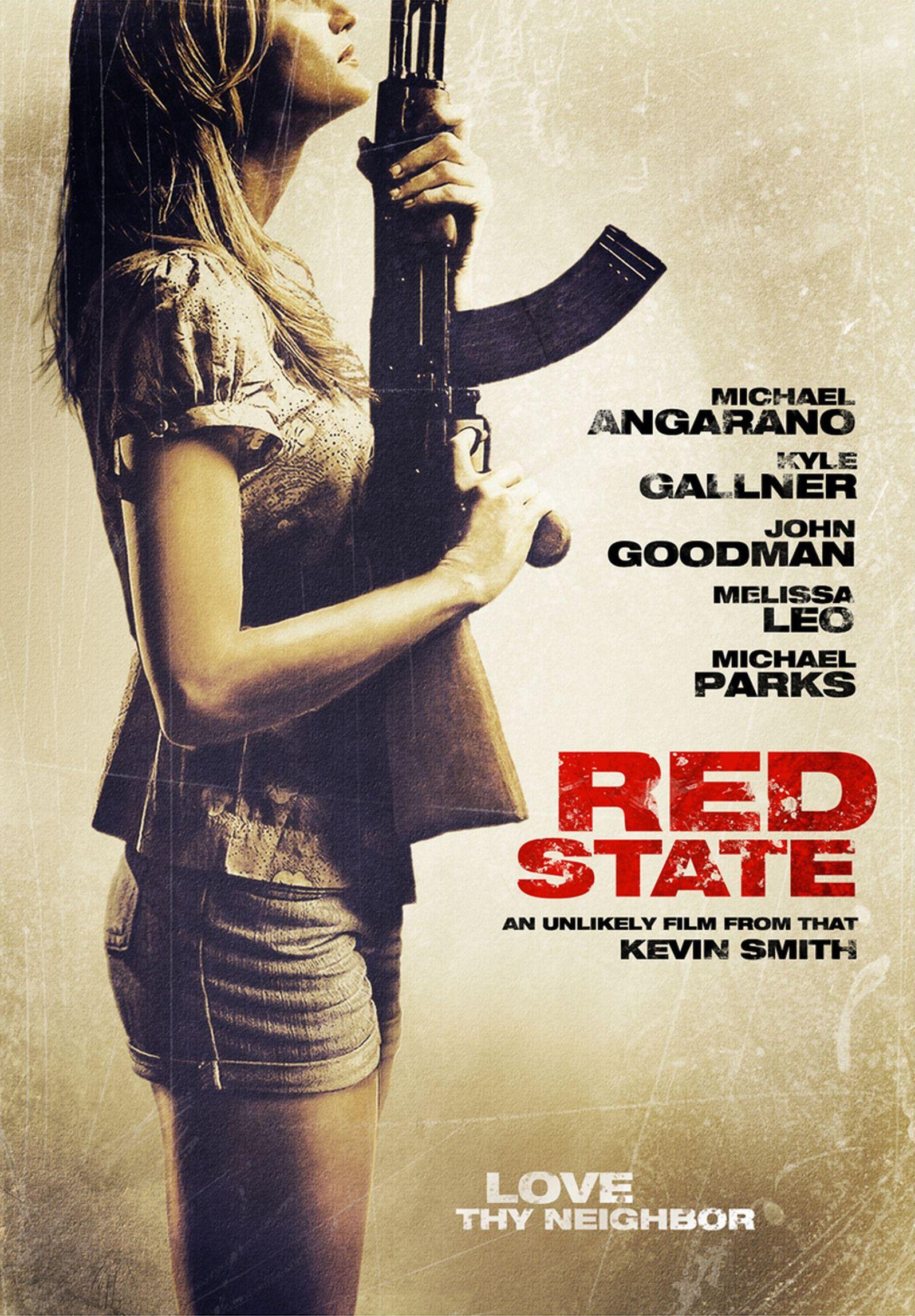 плакат фильма DVD Красный штат