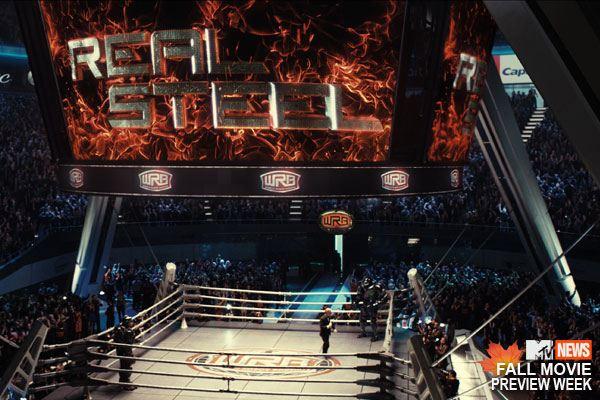кадры из фильма Живая сталь