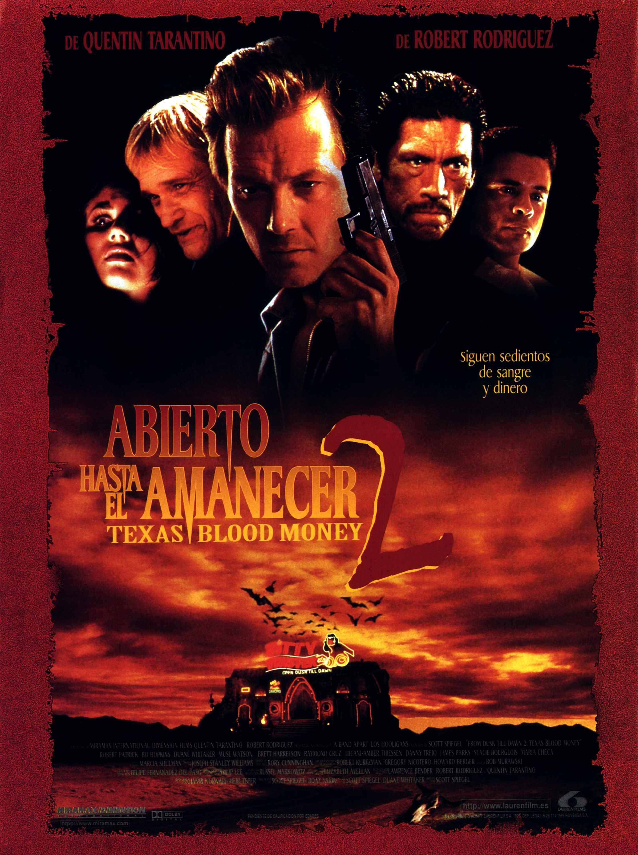 плакат фильма постер От заката до рассвета 2: Кровавые деньги из Техаса